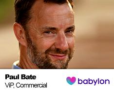 Paul Bate - Babylon Health